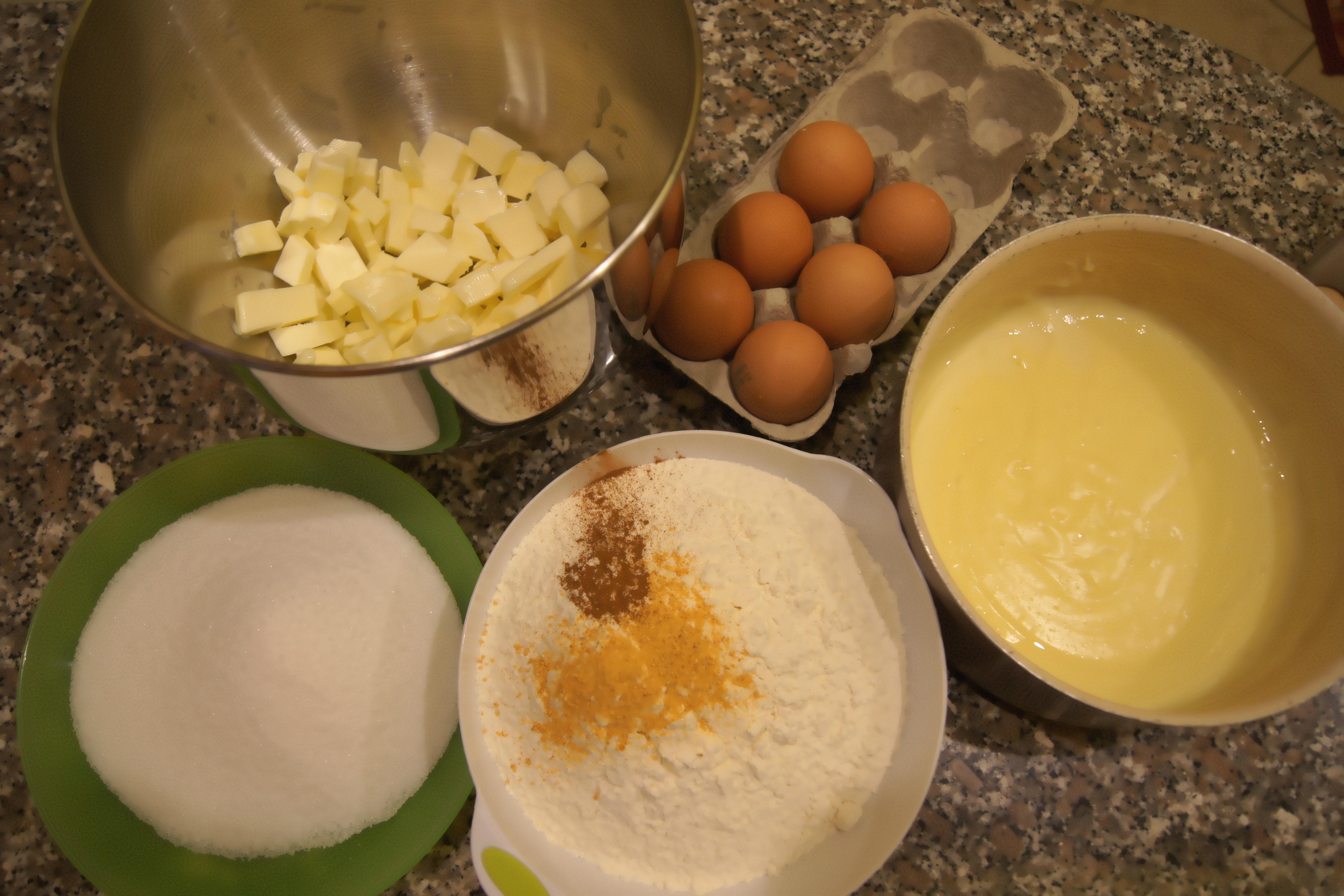 Ingredienti torta della nonna